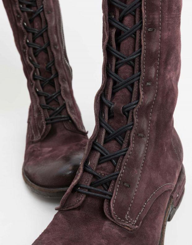 נעלי נשים - A.S. 98 - מגף TEAL שרוך - חציל