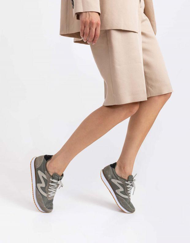 נעלי נשים - Woden - סניקרס OLIVIA - חאקי