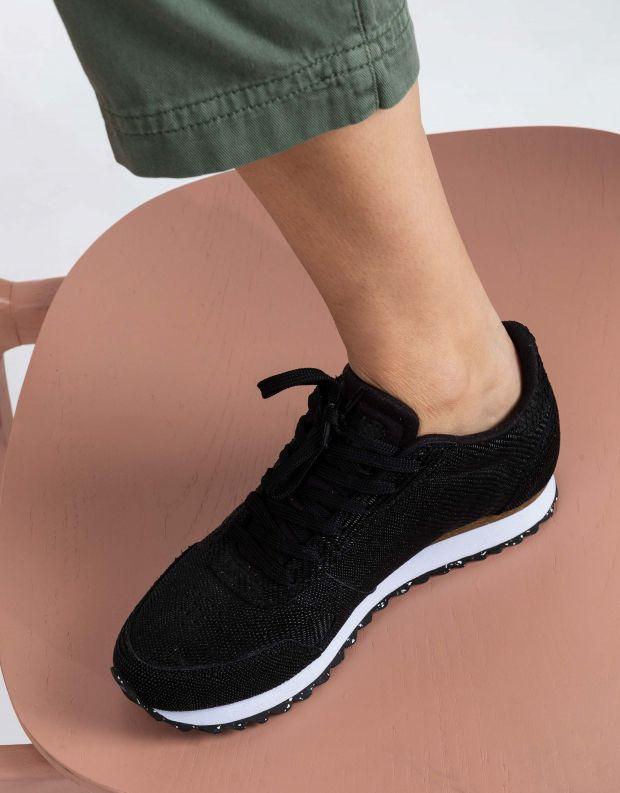 נעלי נשים - Woden - סניקרס YDUN PEARL - שחור
