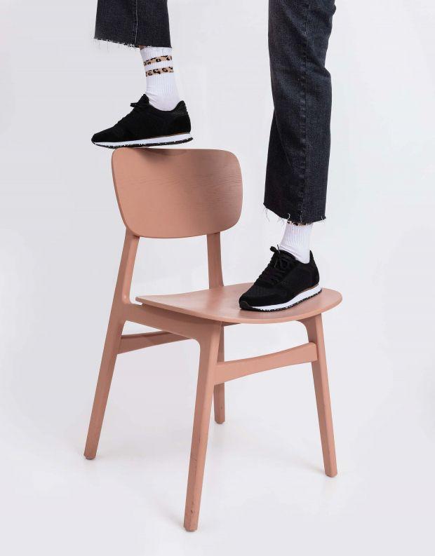 נעלי נשים - Woden - סניקרס YDUN SUEDE MESH - שחור