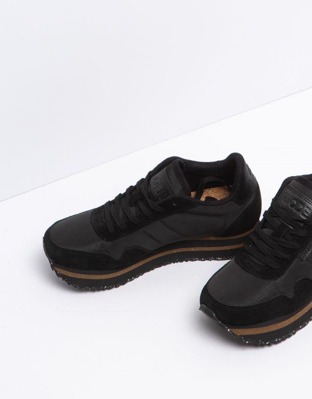 נעלי נשים - Woden - סניקרס NORA PLATEAU - שחור