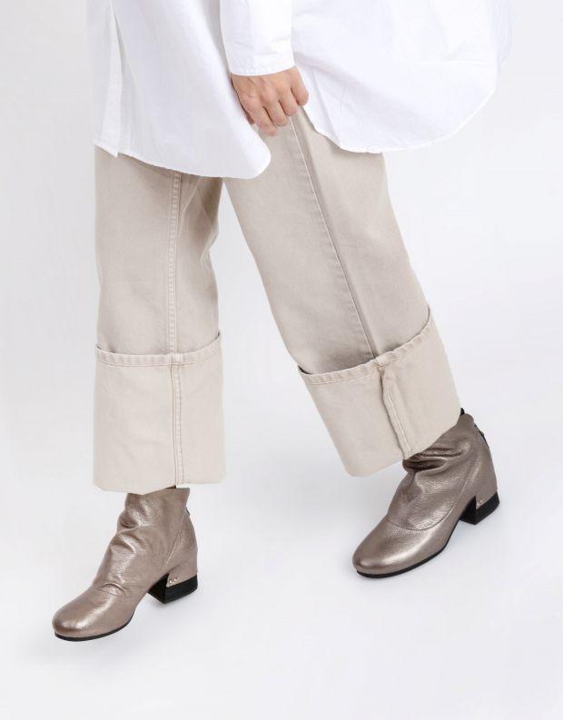 נעלי נשים - Yuko Imanishi - מגפוני עור SHIRO - פיוטר