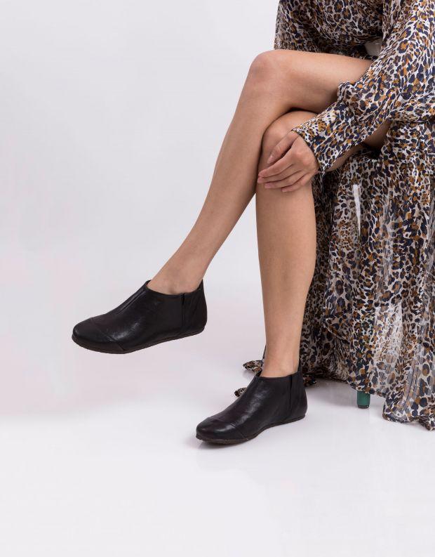 נעלי נשים - Vialis - מגפון LU - שחור