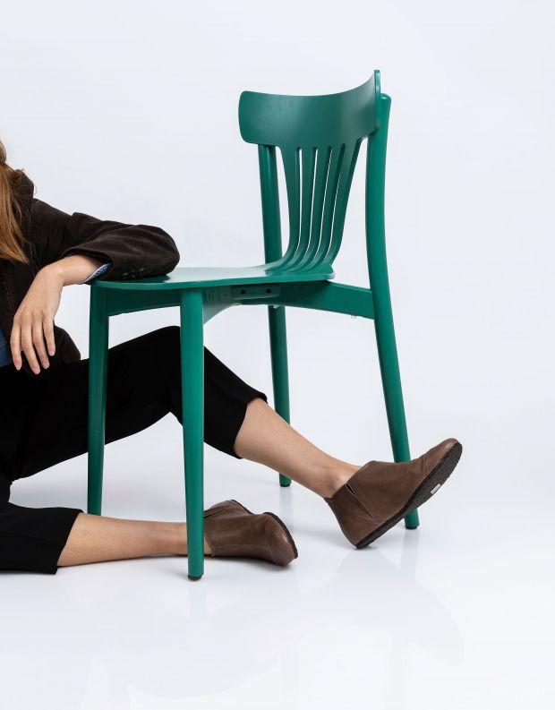 נעלי נשים - Vialis - מגפון LU - חום