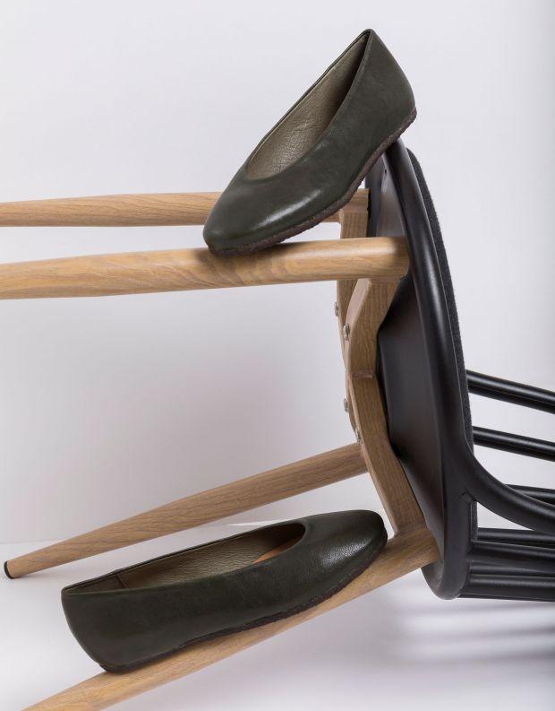 נעלי נשים - Vialis - נעלי סירה LU - ירוק