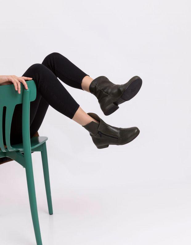 נעלי נשים - Vialis - מגפון JAPON - ירוק