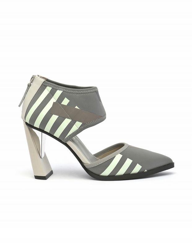 נעלי נשים - United Nude - נעלי עקב DORSEY CALLI - אפור