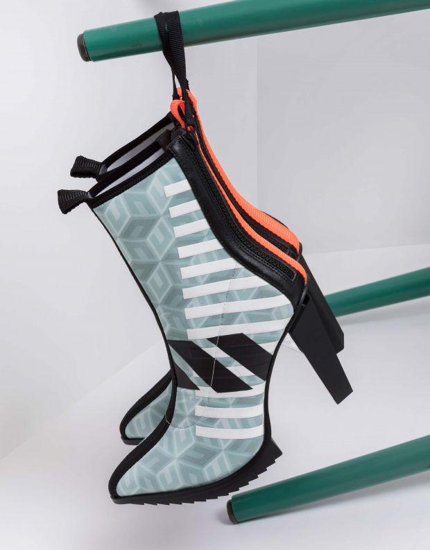 נעלי נשים - United Nude - מגפוני עקב LEV CALLI HI - מנטה