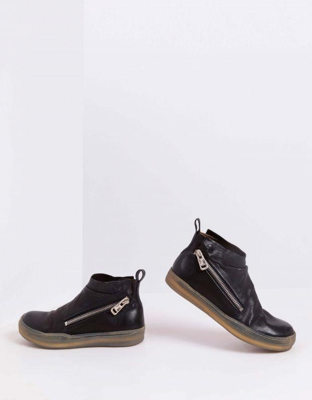 נעלי גברים - A.S. 98 - מגפיים עם רוכסנים SAGIT - שחור