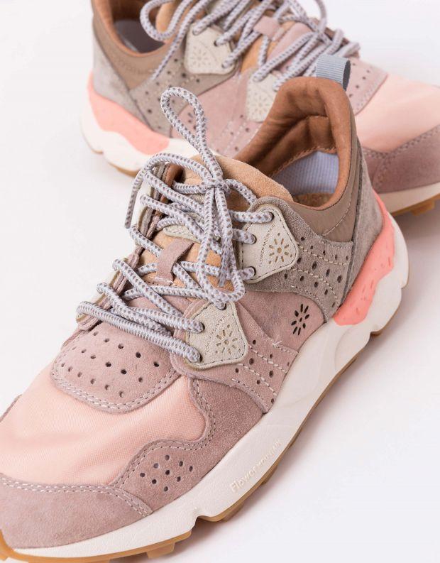 נעלי נשים - Flower Mountain - סניקרס CORAX - ורוד