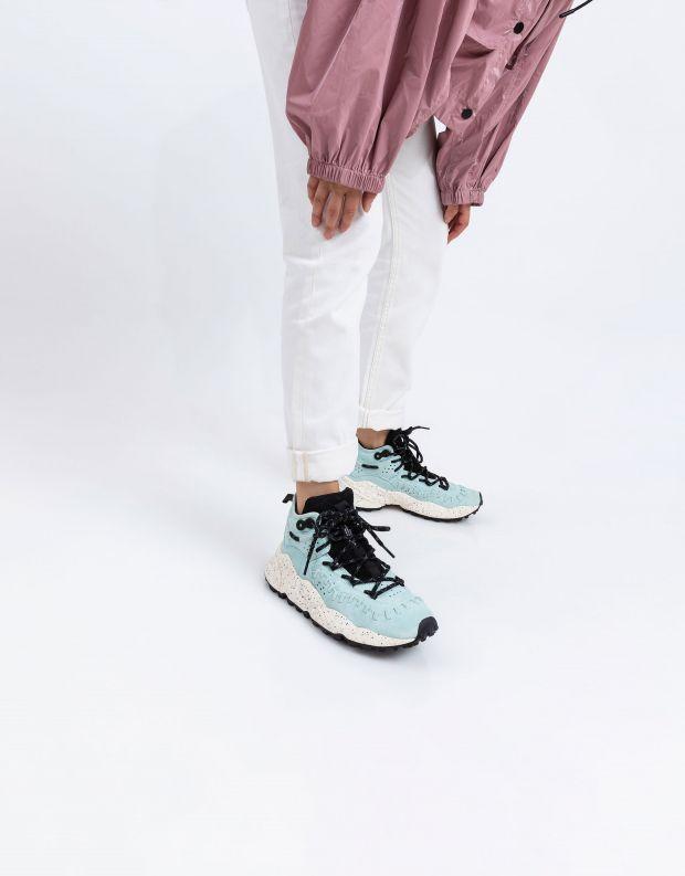 נעלי נשים - Flower Mountain - סניקרס גבוהות MOHICAN - מנטה