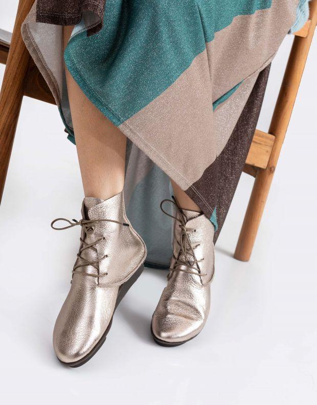 נעלי נשים - Trippen - מגפונים DESTINY PENNA - זהב