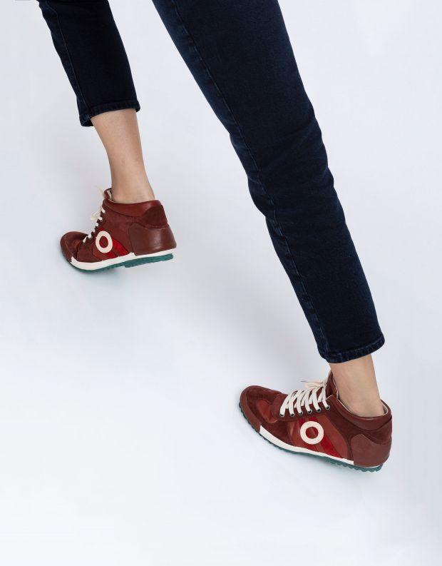 נעלי נשים - Aro - סניקרס גבוה IDO - חמרה