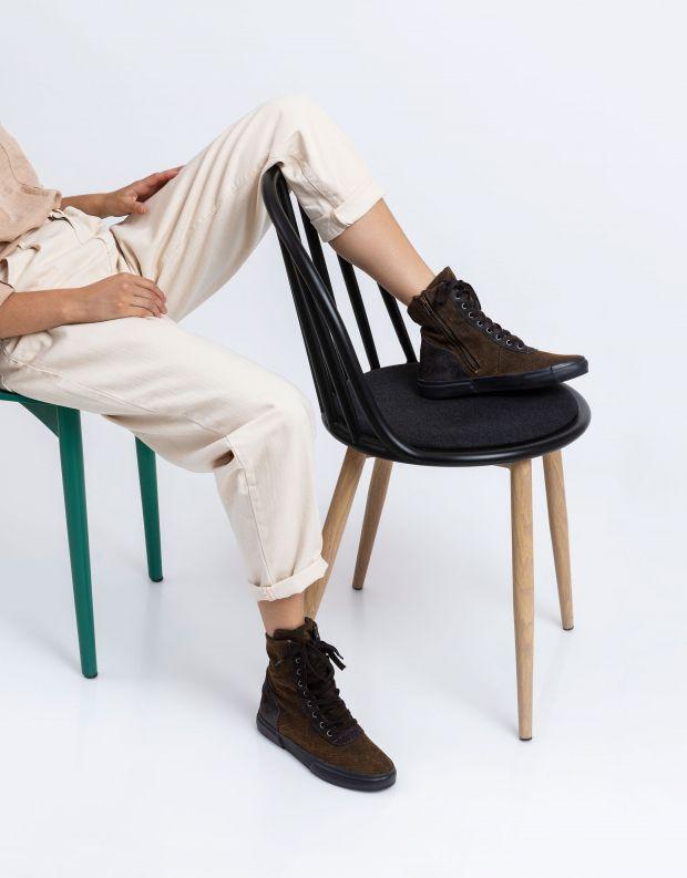 נעלי נשים - Aro - מגפוני EMMA ג'ינס - אפור