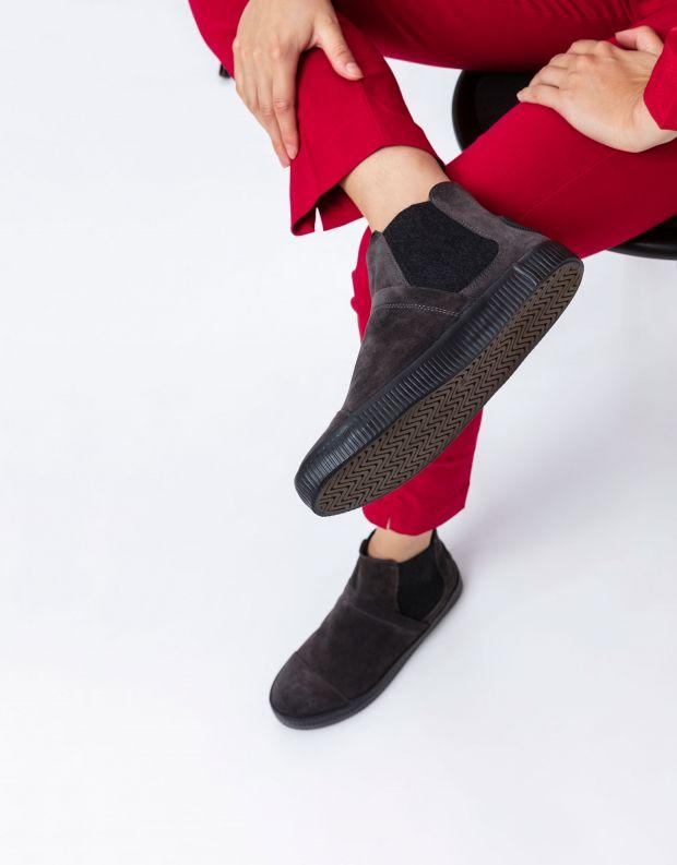 נעלי נשים - Aro - מגפוני גומיות NOELLE - אפור