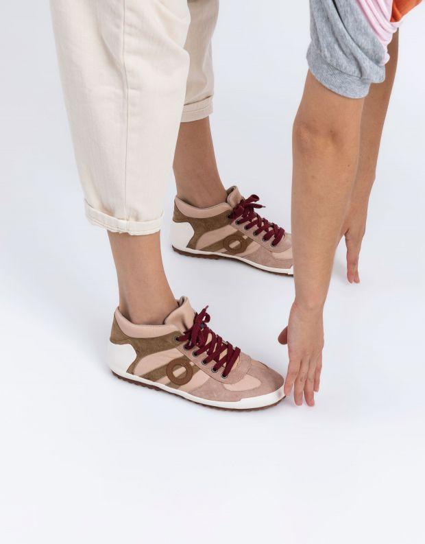 נעלי נשים - Aro - סניקרס גבוה IDO - ניוד
