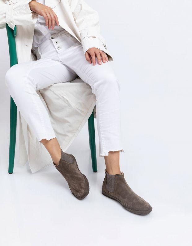 נעלי נשים - Aro - מגפוני צ'לסי WILLY - חום