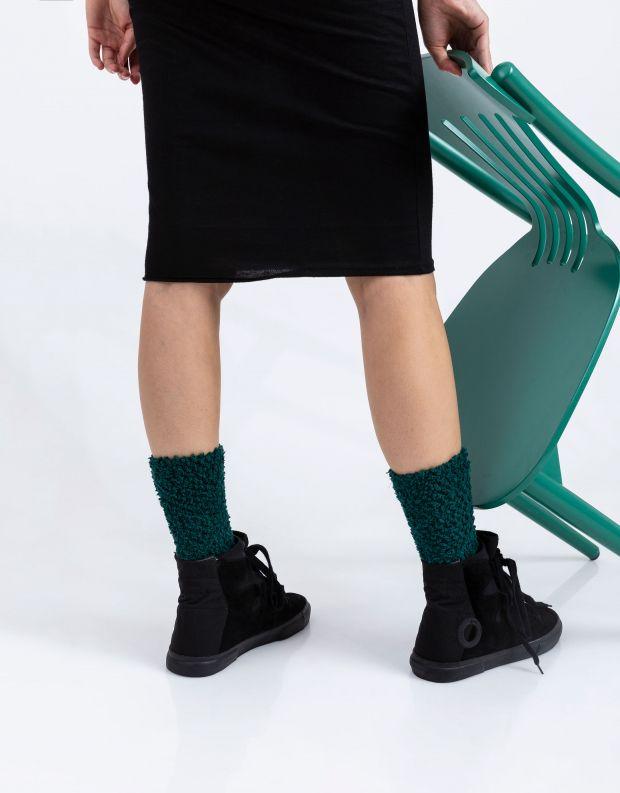 נעלי נשים - Aro - מגפוני קשירה EMMA - שחור