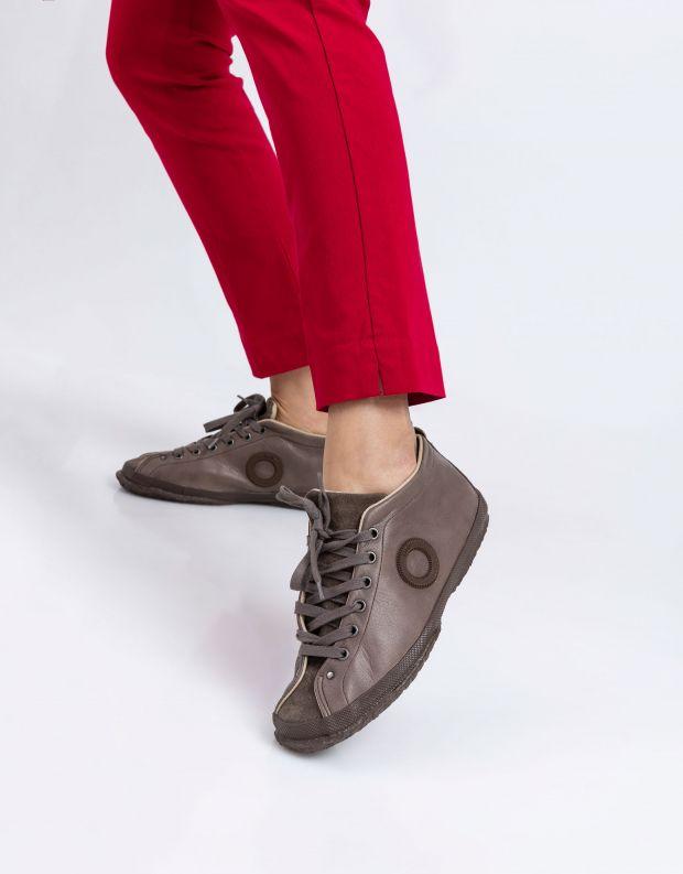 נעלי נשים - Aro - נעלי עור וזמש WILLY - חום בהיר