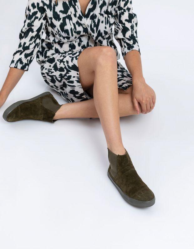 נעלי נשים - Aro - מגפוני גומיות NOELLE - זית