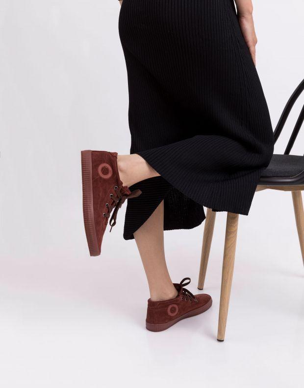 נעלי נשים - Aro - סניקרס זמש NOELLE - חמרה