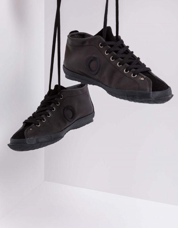 נעלי נשים - Aro - נעלי עור וזמש WILLY - שחור
