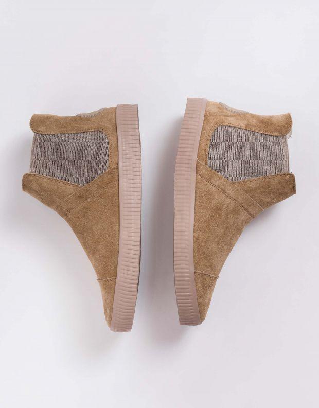 נעלי נשים - Aro - מגפוני גומיות NOELLE - בז'