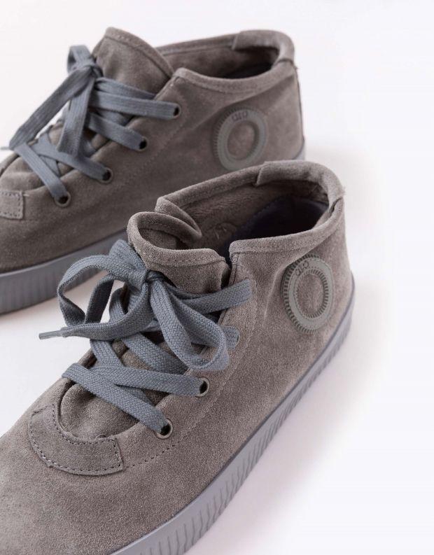 נעלי נשים - Aro - סניקרס זמש NOELLE - אפור בהיר