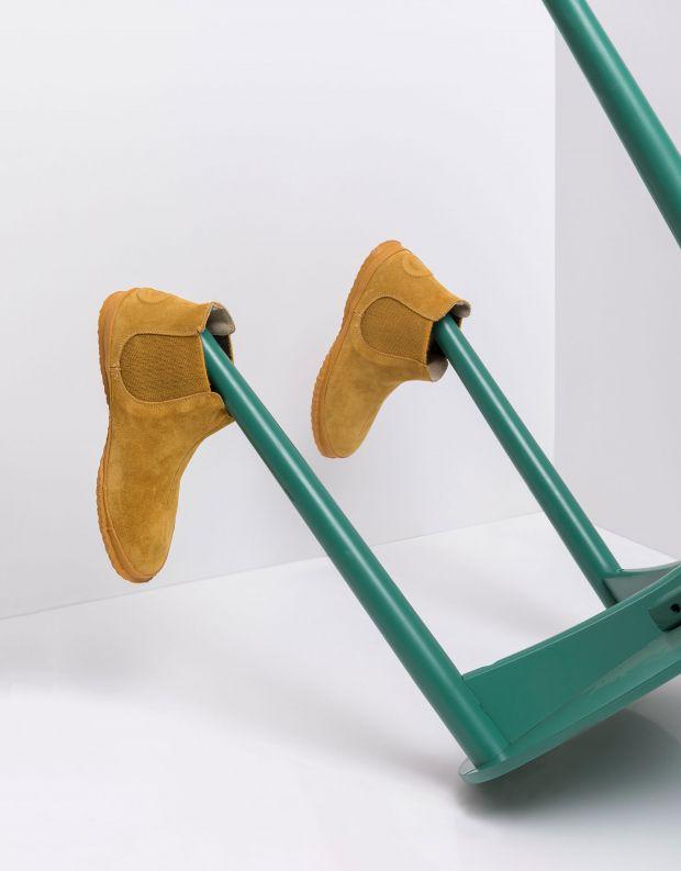 נעלי נשים - Aro - מגפוני צ'לסי WILLY - צהוב