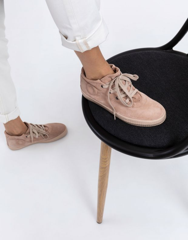 נעלי נשים - Aro - סניקרס זמש NOELLE - ניוד
