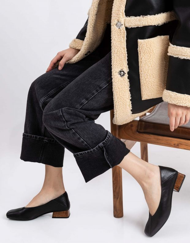 נעלי נשים - Yuko Imanishi - נעלי סירה MIO - שחור