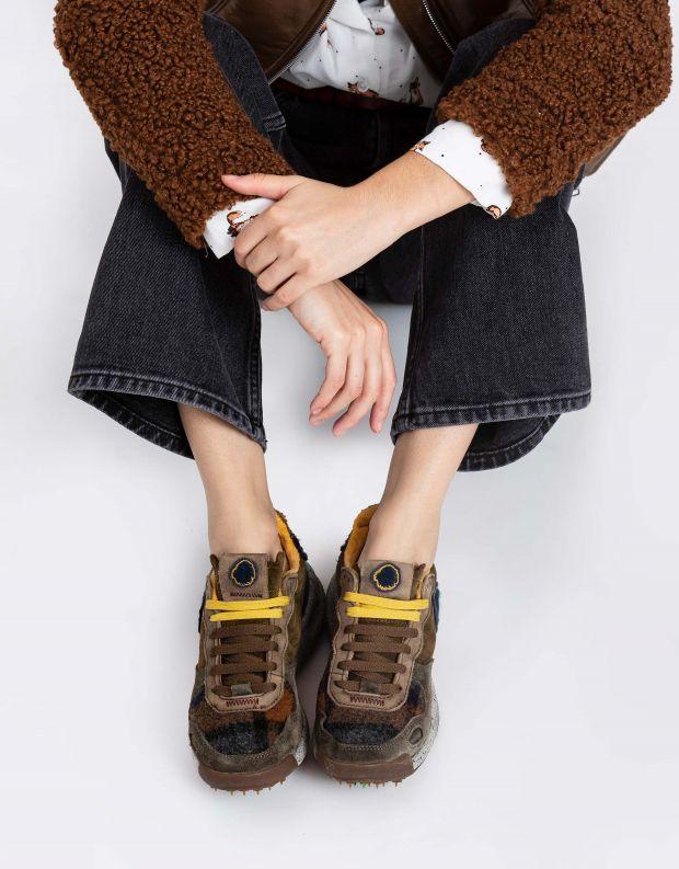נעלי נשים - Satorisan - סניקרס משולבים CHACRONA - חום