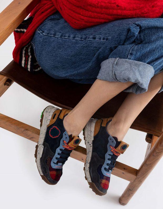 נעלי נשים - Satorisan - סניקרס משולבים CHACRONA - כחול