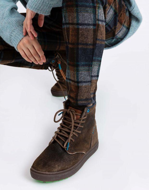 נעלי נשים - Satorisan - מגפוני שרוכים HIDA - אבן