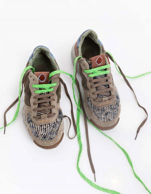 נעלי גברים - Satorisan - סניקרס משולבים CHACRONA - חאקי