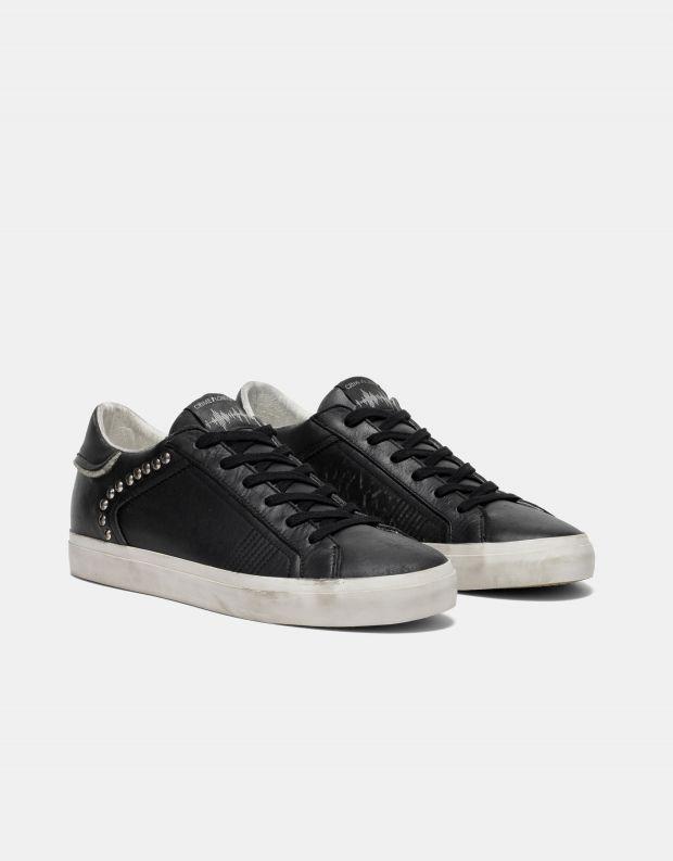נעלי גברים - Crime London - סניקרס SOUL ניטים - שחור