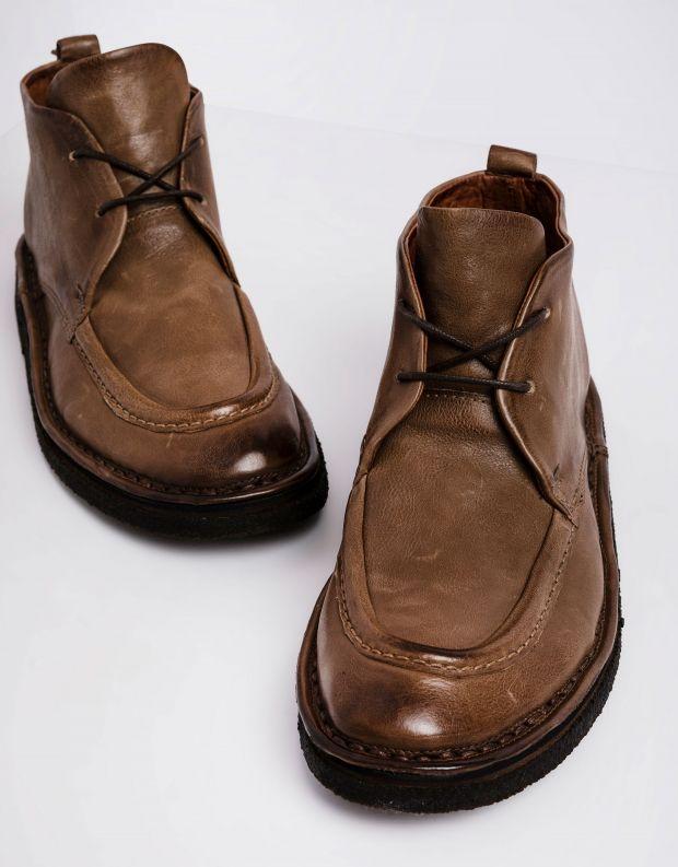 נעלי גברים - A.S. 98 - נעליים עם תיפורים OASIS - חום