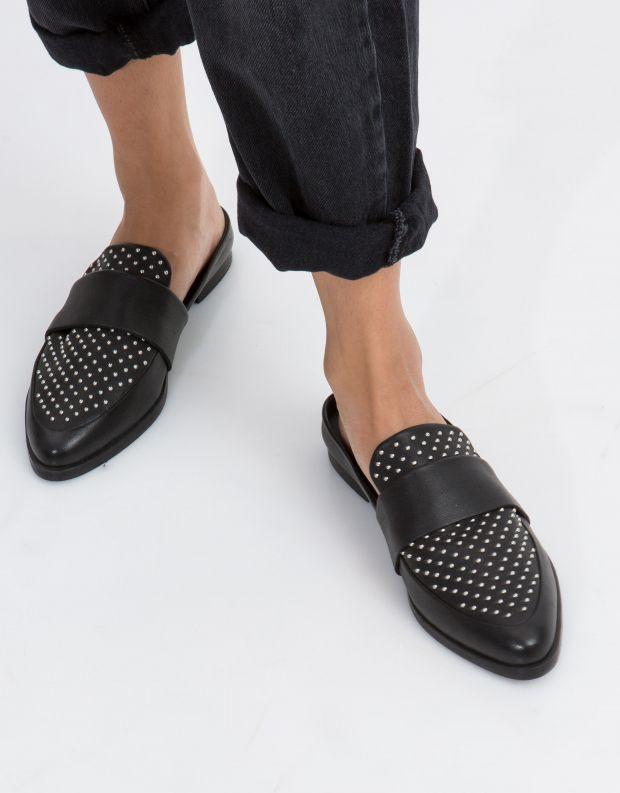נעלי נשים - SOL SANA - קבקב TUESDAY ניטים - שחור ניטים