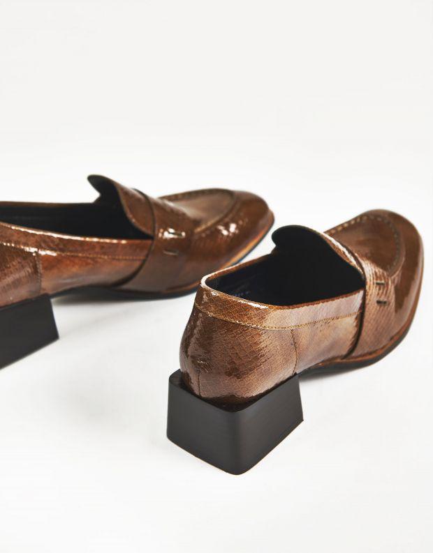 נעלי נשים - Yuko Imanishi - נעלי עור RURI - חום בהיר