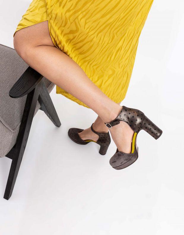 נעלי נשים - Chie Mihara - נעלי JO -MAHO - אפור