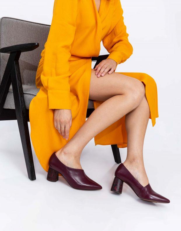 נעלי נשים - Chie Mihara - נעלי LOA - בורדו