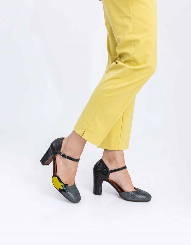 נעלי נשים - Chie Mihara - נעלי WABAN - אפור   ירוק