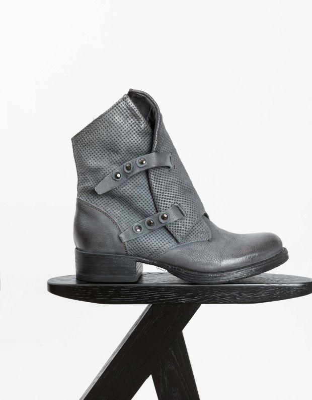 נעלי נשים - Mjus - מגפוני NORTON מעטפה - אפור