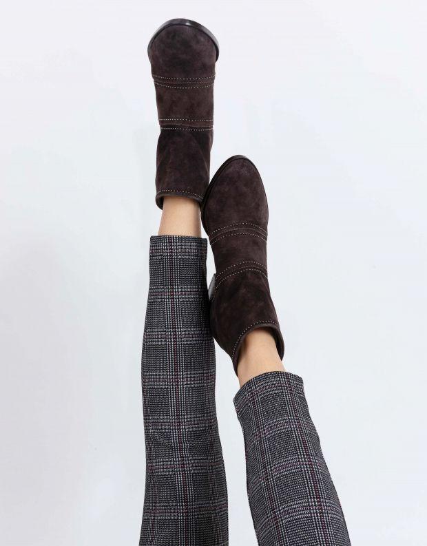 נעלי נשים - Mjus - מגפוני DALLAS - חום