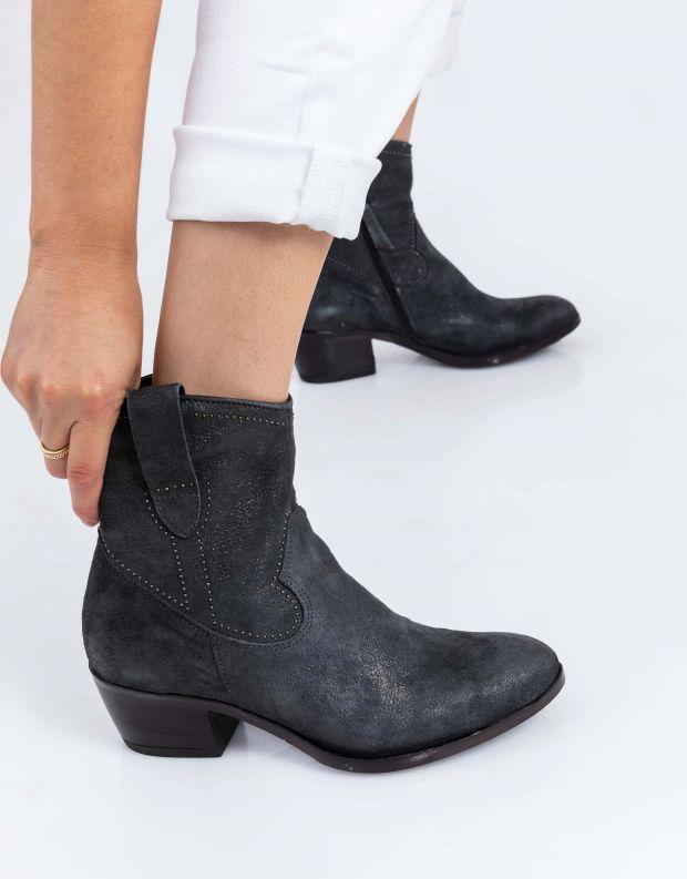 נעלי נשים - Mjus - מגפוני בוקרים DALLAS - אפור