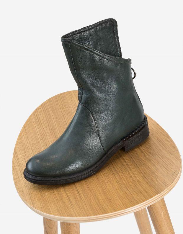 נעלי נשים - Mjus - מגפונים אסימטריים PALLY - ירוק
