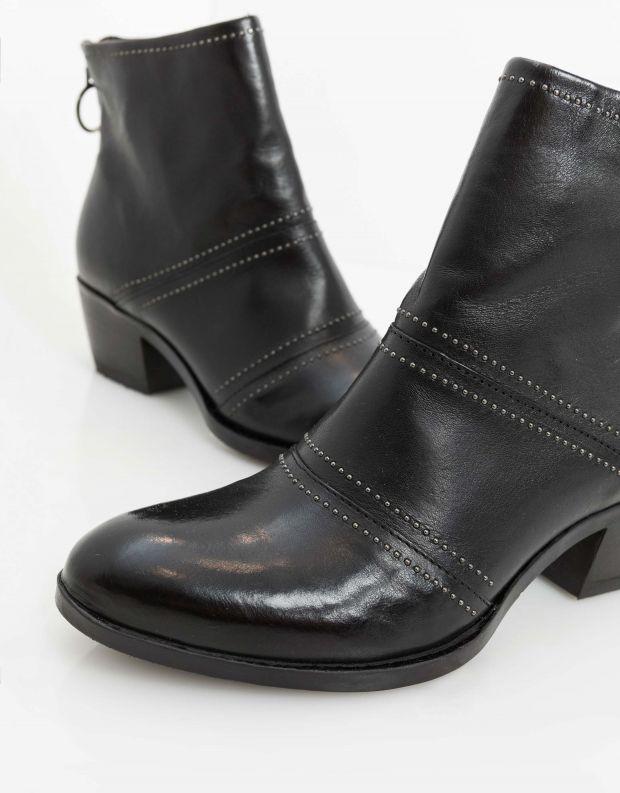 נעלי נשים - Mjus - מגפוני DALLAS - שחור