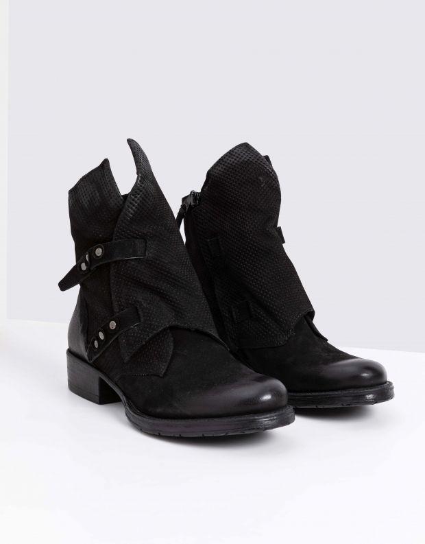 נעלי נשים - Mjus - מגפוני NORTON מעטפה - שחור