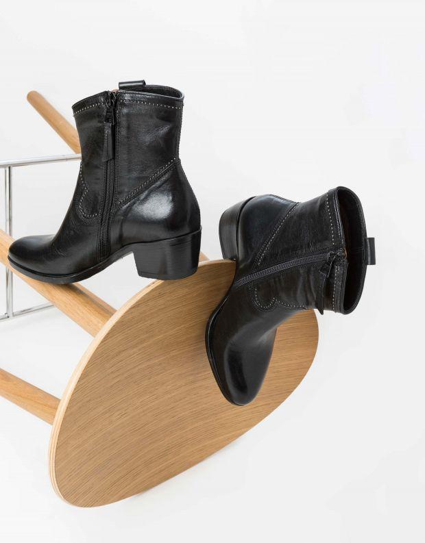 נעלי נשים - Mjus - מגפוני בוקרים DALLAS - שחור
