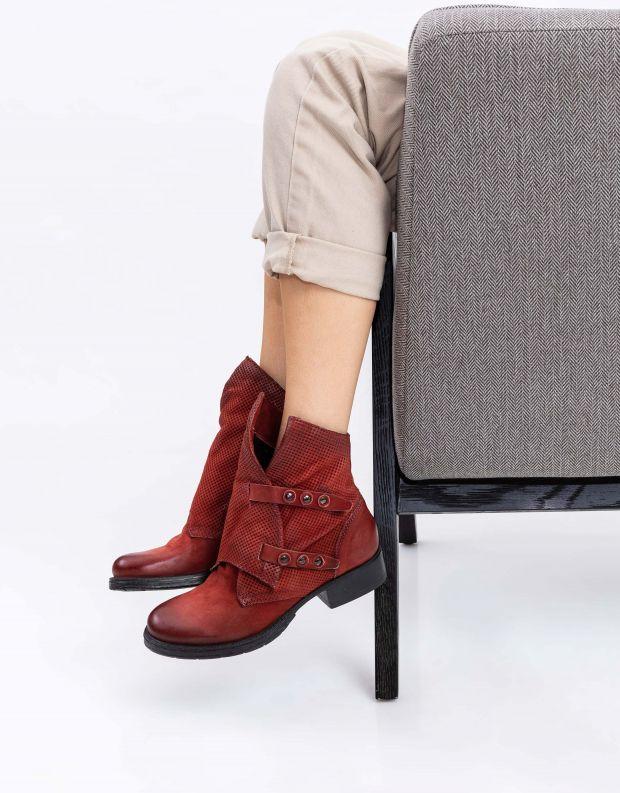 נעלי נשים - Mjus - מגפוני NORTON מעטפה - חמרה